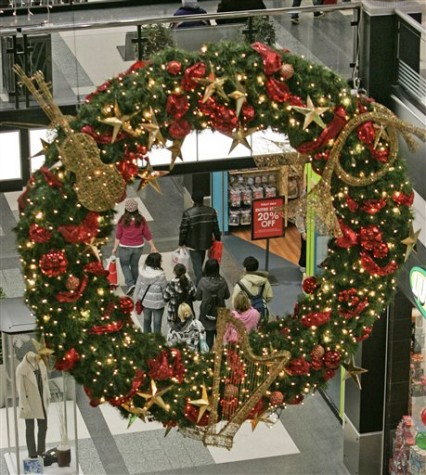Shoppers turned out for Black Friday at the Mall of America