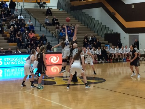 Apple Valley and Eastview go after the tip to start the game.
