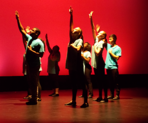 Student performers at Just a Glimpse