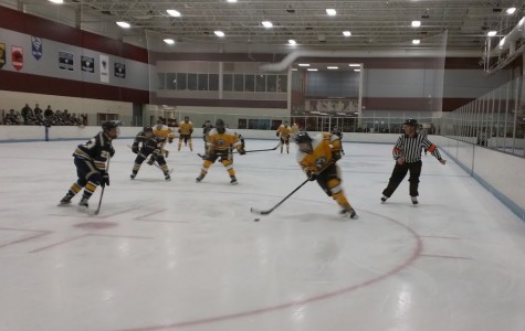 Boys' Hockey Comeback Falls Short in Loss to Rosemount