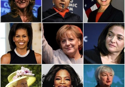Powerful women in leadership.