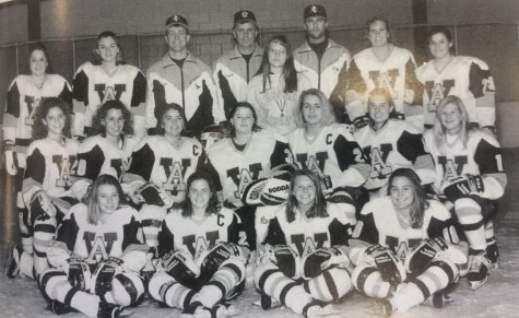 1994-95 Apple Valley Girls Hockey team photo