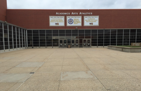 Current entrance to AVHS.