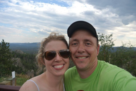 Theresa Kuhn and her husband Chris Kuhn in South Dakota