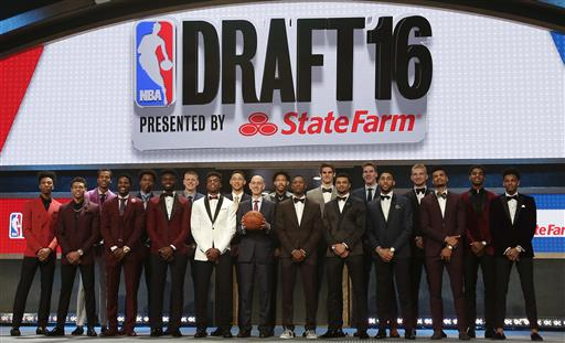 The NBA Draft has evolved in recent years to become a highly publicized event.