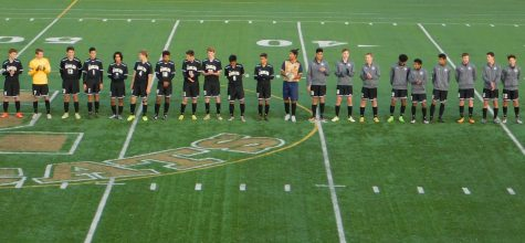 Men's Soccer Team Plays at State Quarterfinals!