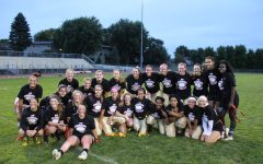 Seniors Take on Powder Puff
