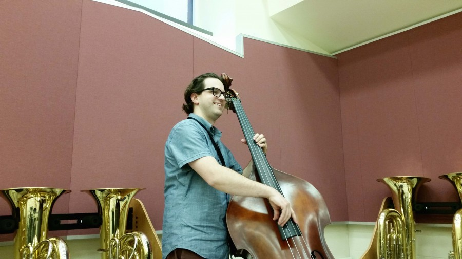 Mr. Scalise on the upright bass