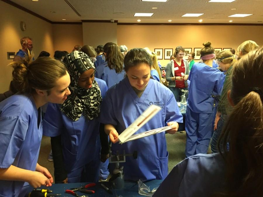 During the Perry Initiative field trip E3 STEM students were able to meet with many orthopedics and engineers as well as experience with some field work.
