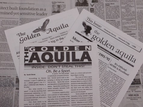 A collection of Golden Aquila editions...