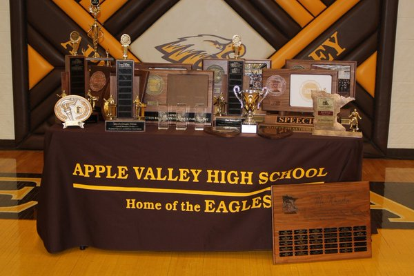 A collection of all the awards Apple Valley has won during winter