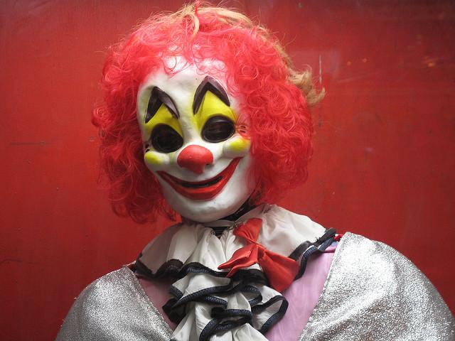 Scary clown sightings are spreading terror