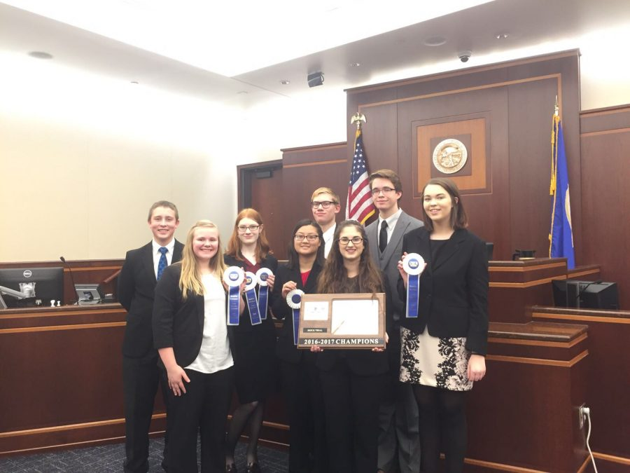 Mock+Trial+team+getting+first+place+in+the+South+Suburban+Conference+