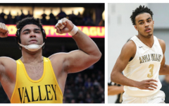 Gable Steveson (left) and Tre Jones were both standout athletes during their AVHS careers.